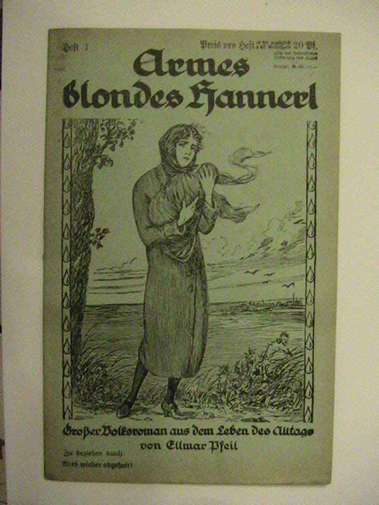 Armes blondes Hannerl